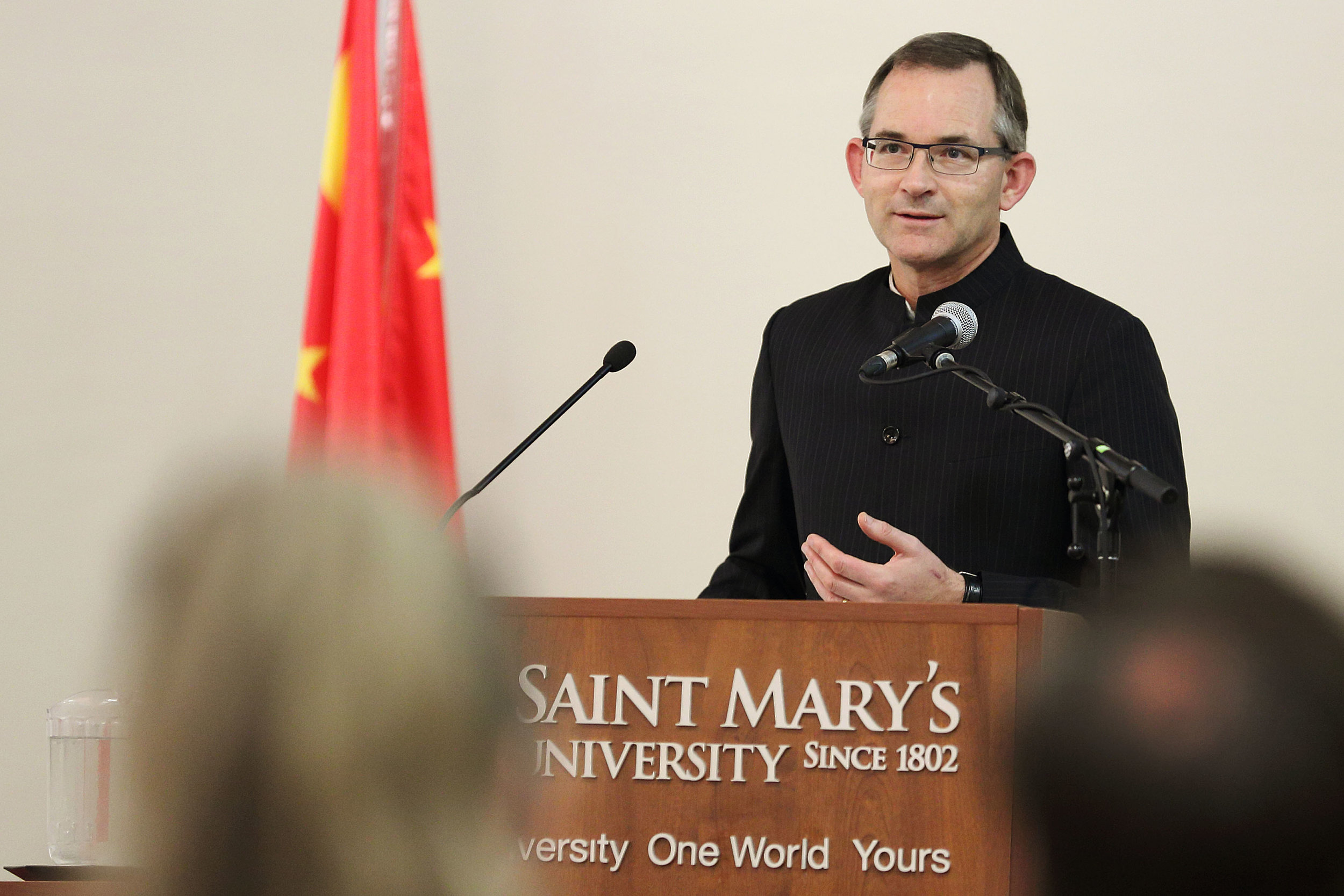 Robert Summerby-Murray, President and Vice-Chancellor, Saint Mary's University