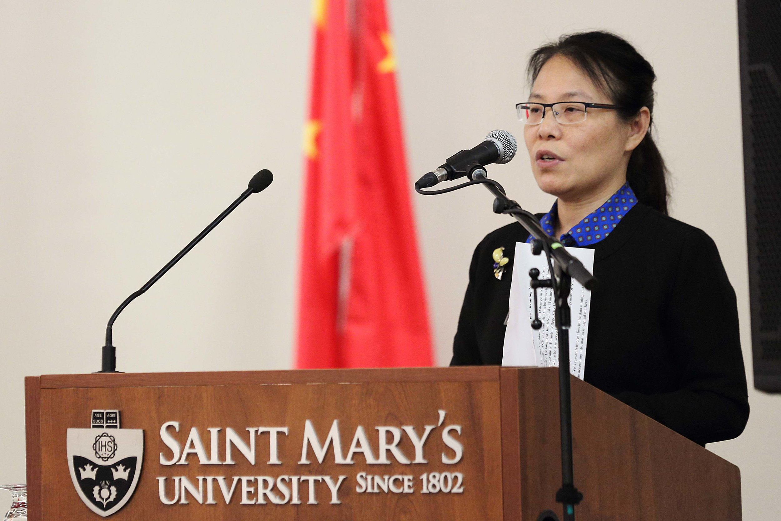 Maria Pan, Director, Confucius Institute at Saint Mary's University