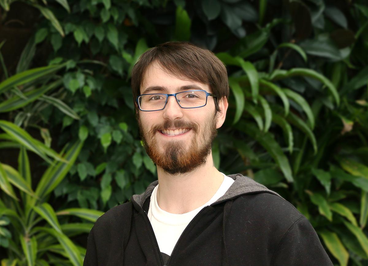 Dennis Gallant, astrophysics student