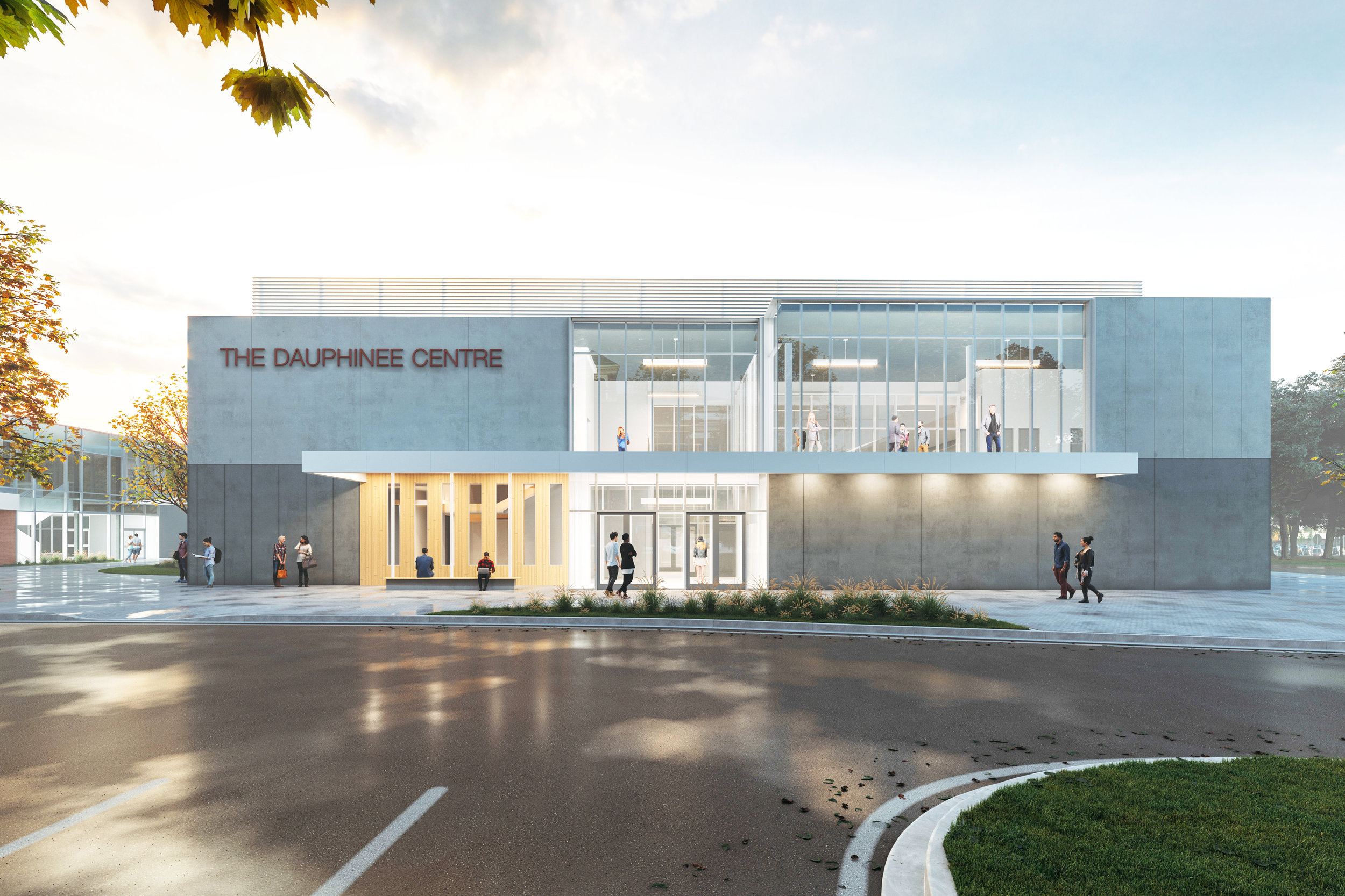 A rendering of The Dauphinee Centre.