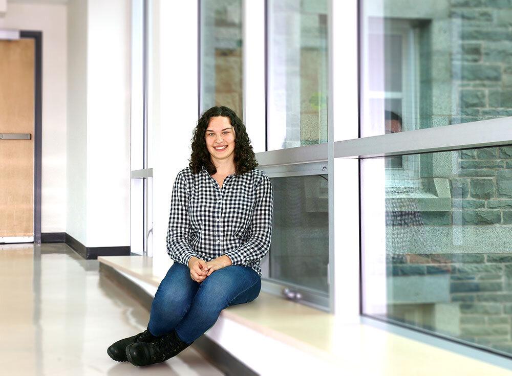 Saint Mary's University Astrophysics student Sophia Waddell
