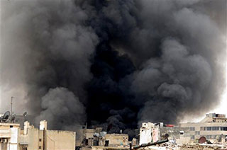 AP/Aleppo Media Center