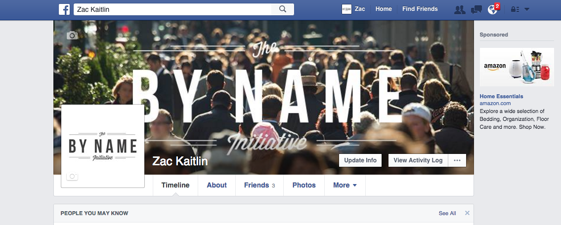Facebook/Twitter Cover Photo