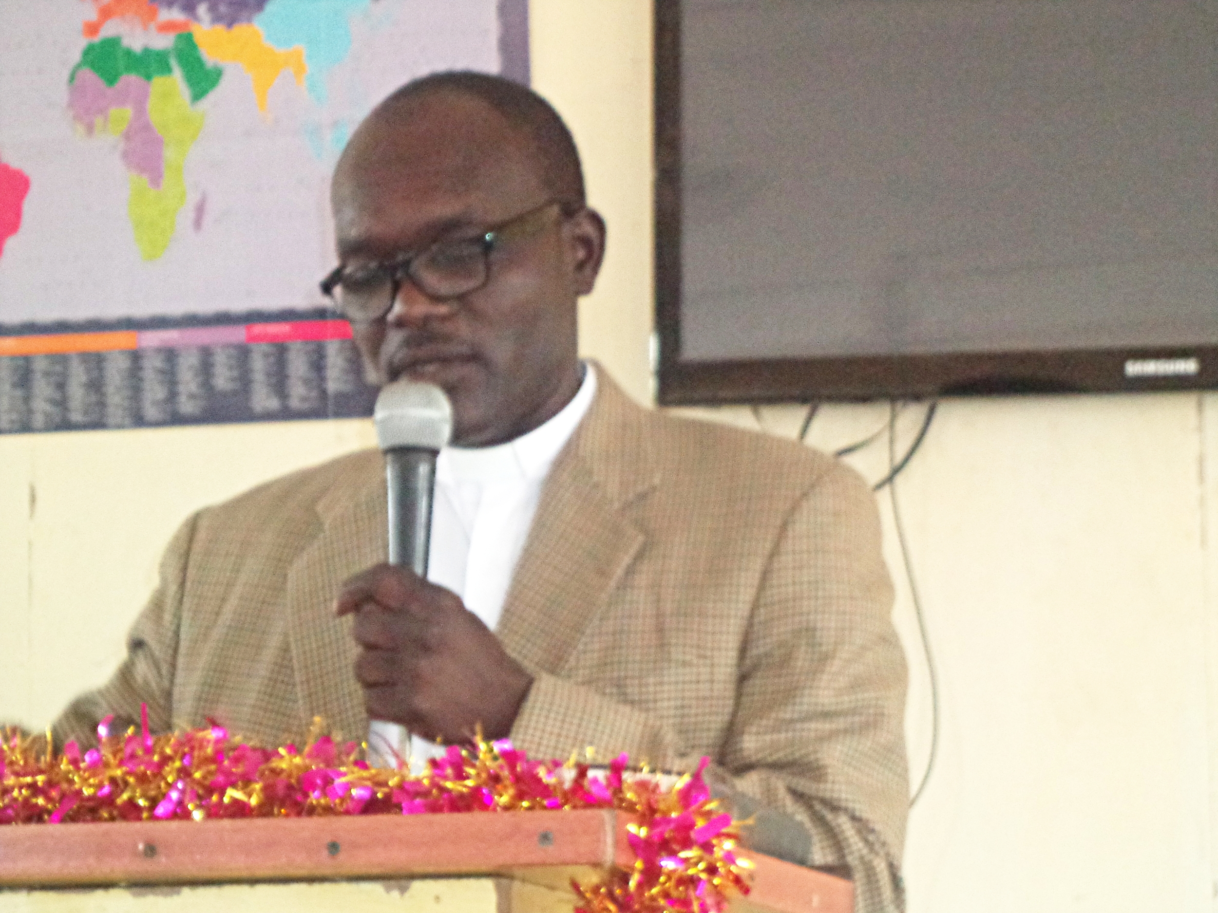 Rev. Nasser Kajou, Nubian Missionary