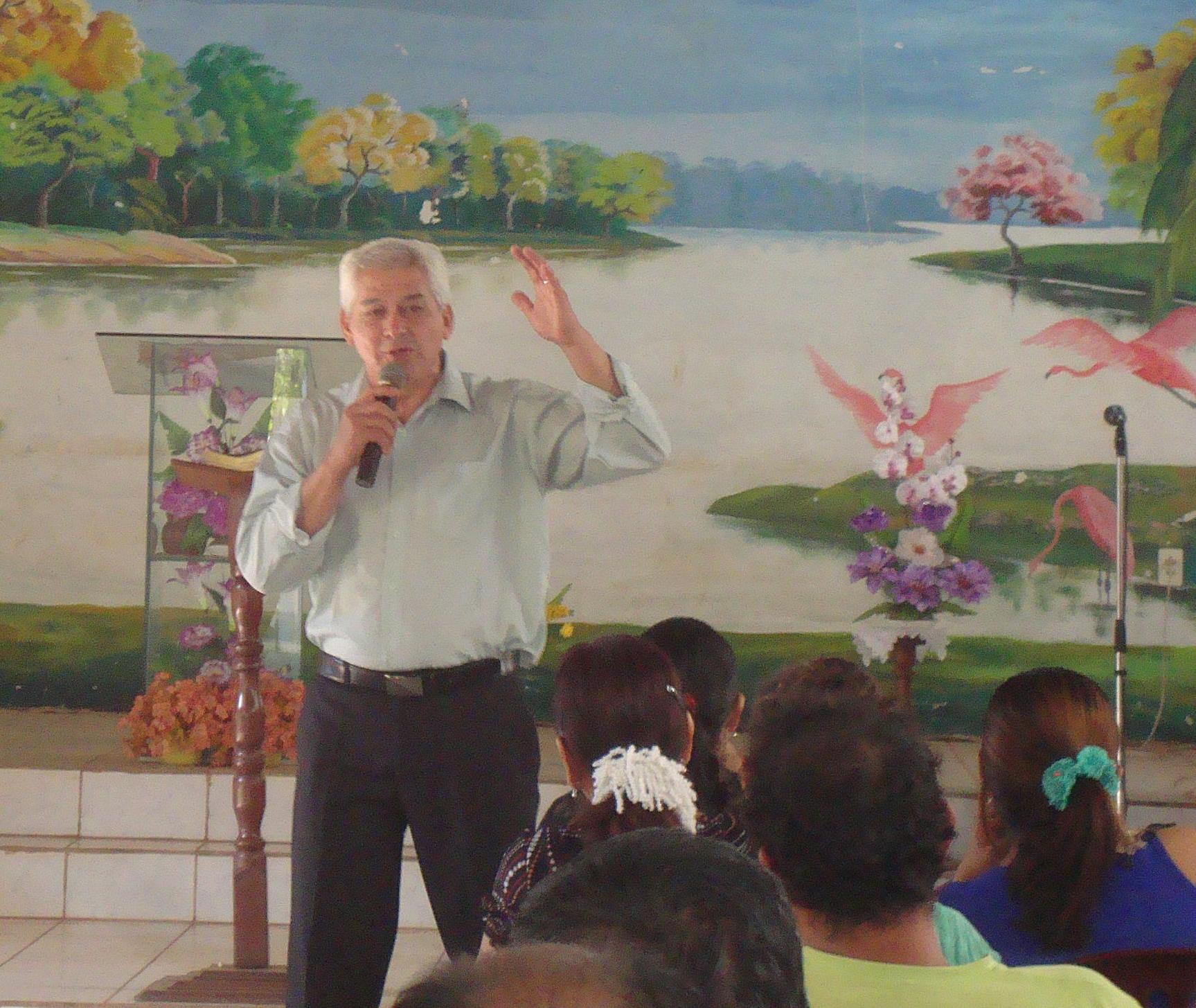 Rev. Nilson Mendoza Chavez, Bolivian Missionary and Project Coordinator