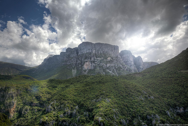 Vikos Gorge West Face, Greece