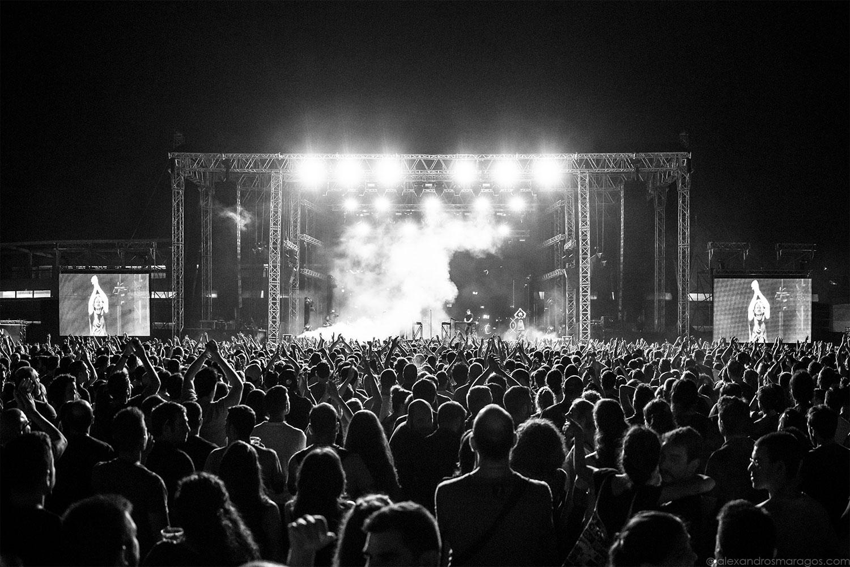 Moderat - Release Athens 2017 |© Alexandros Maragos