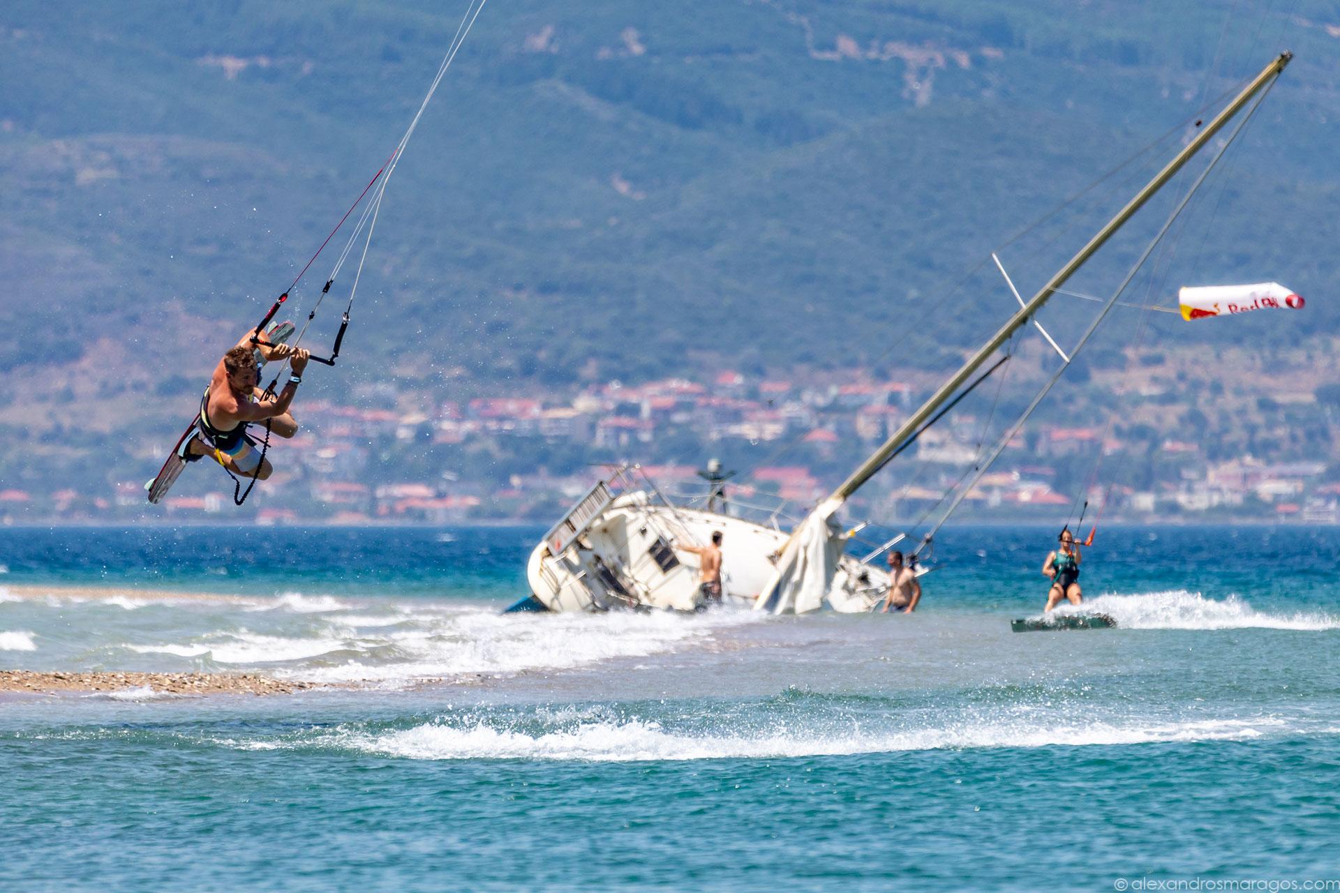 Kitesurf Festival, Cape Drepano, Greece |© Alexandros Maragos