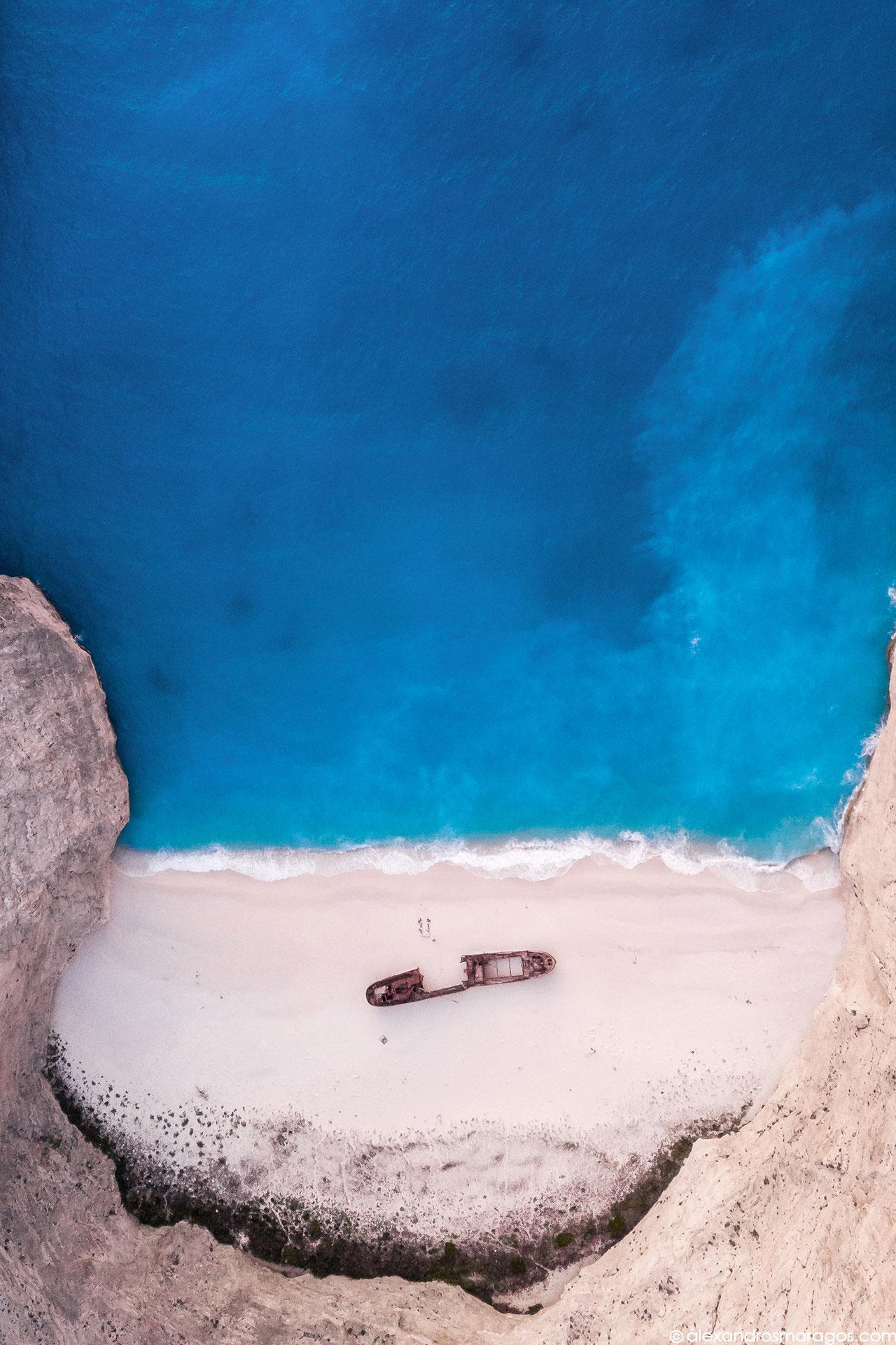The Shipwreck Beach, Zakynthos, Greece |© Alexandros Maragos
