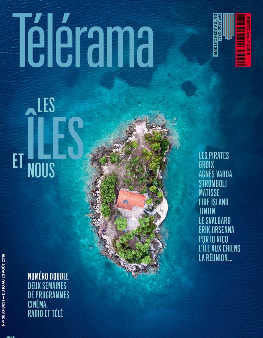 Télérama Magazine Cover Photography: © Alexandros Maragos