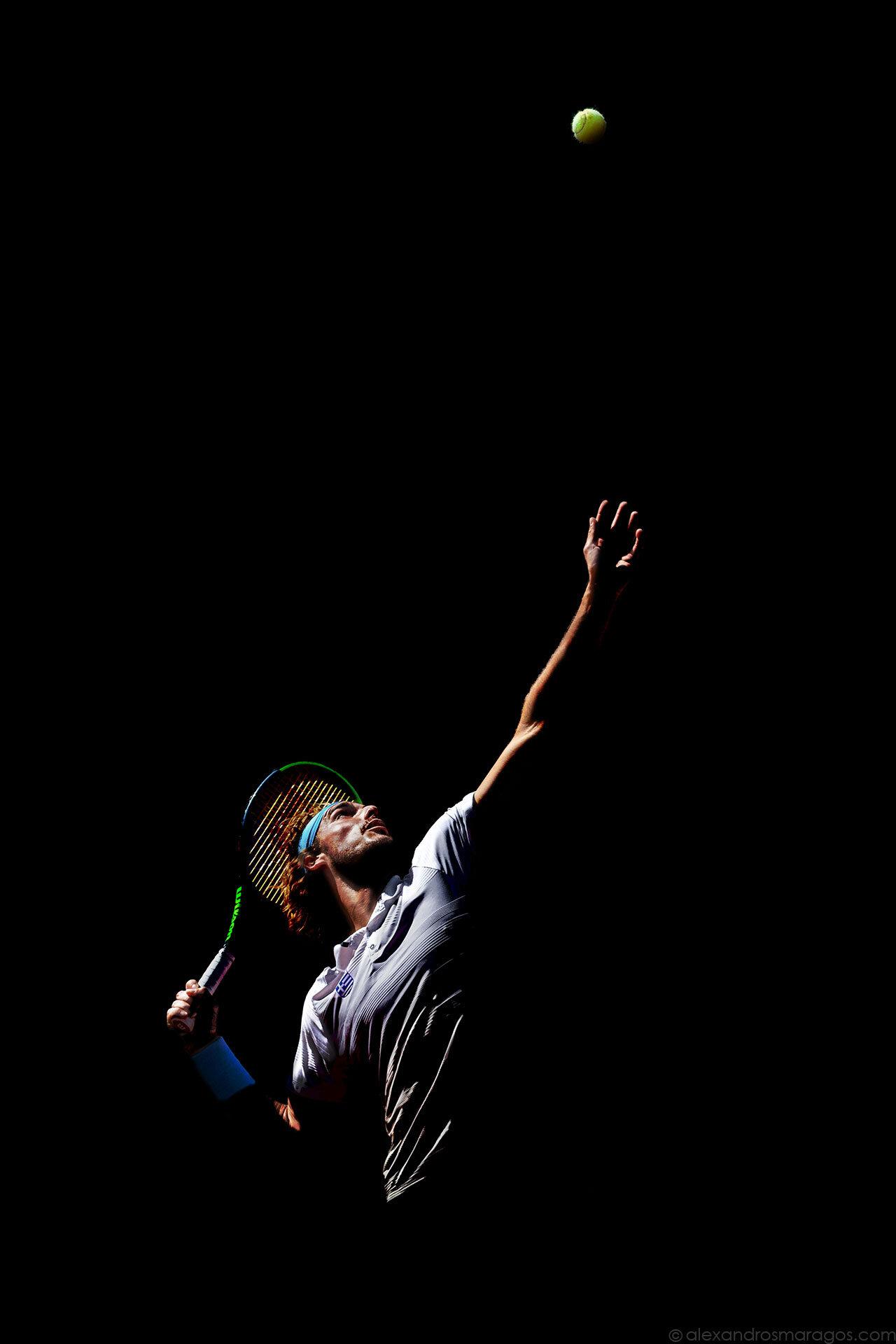 Stefanos Tsitsipas Photographed by Alexandros Maragos