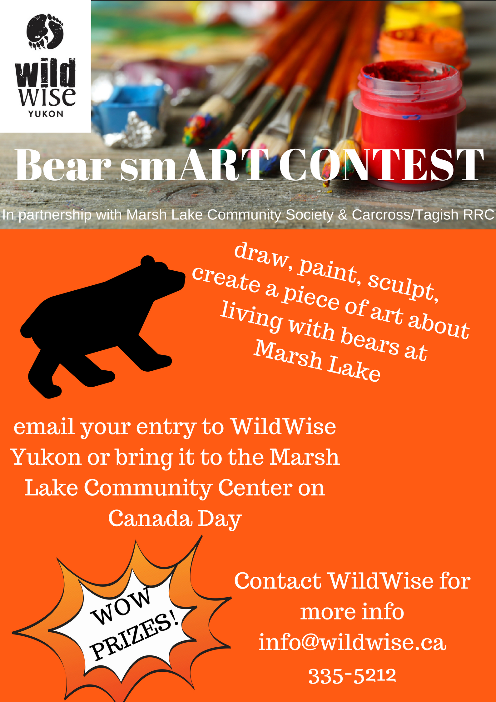 Wild about art? - Enter this competition, draw attention to living peacefully with bears, win a prize!