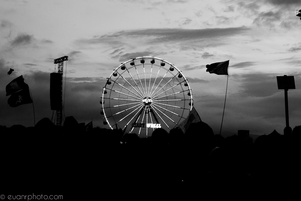 Big Wheel in the evening
