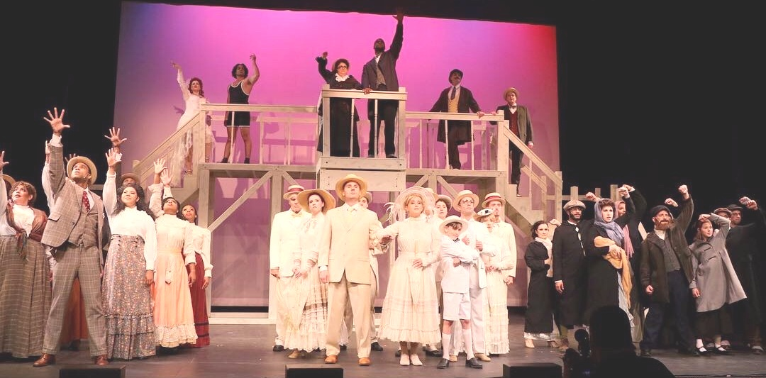 The Company of  Ragtime The Musical