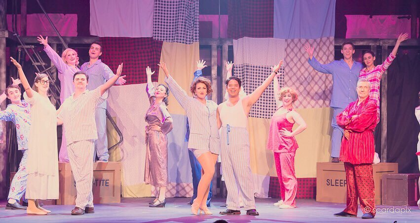 The Company of  The Pajama Game