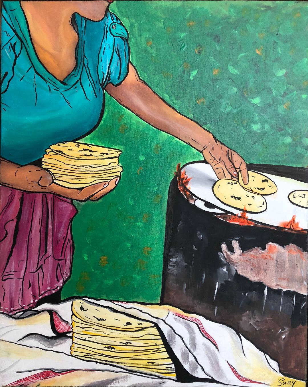 """Las Tortillas"" / The Tortillas  Sury Chavez"