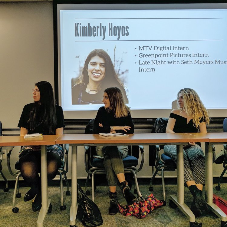 Rutgers University Society for Professional Journalists Internship Panel, March 2018 - New Brunswick, NJ