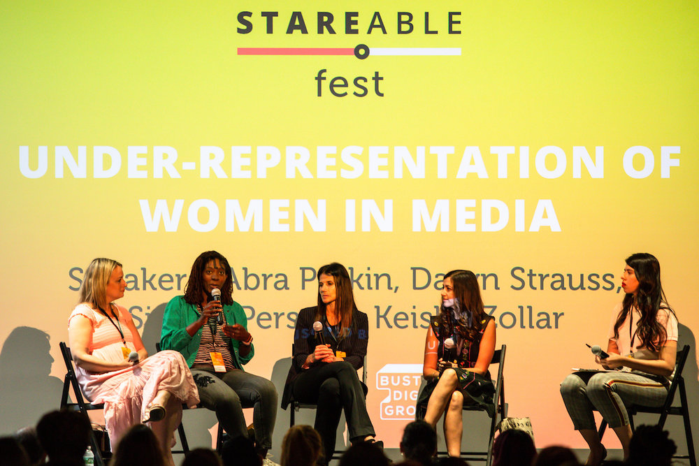 Stareable Fest, Under Representation of Women in Media, July 2018- Manhattan, NYC