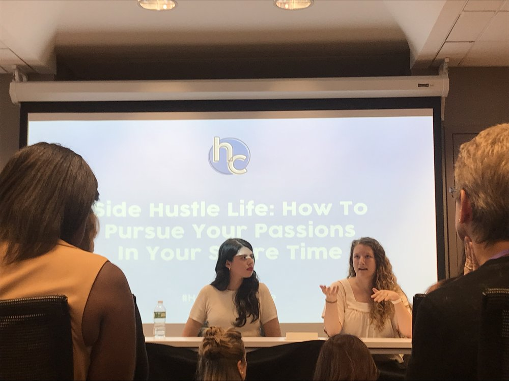 Her Conference- Side Hustle Life, Her Campus, July 2018- Manhattan, NYC