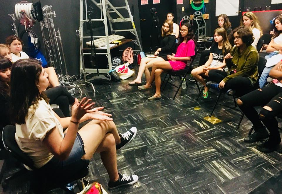 Camp Reel Stories- Adolescent Content Panel, August 2018, Glendale, California