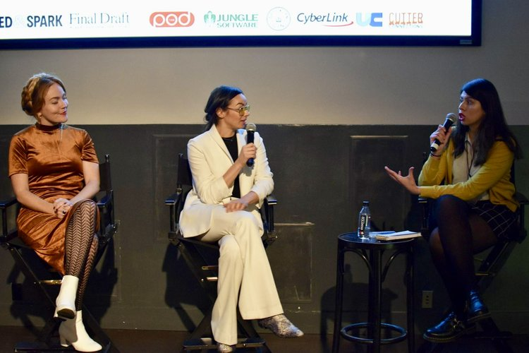 Imagine This Productions' International Women's Film Festival- Two Little Bitches Q&A, November 2018, Brooklyn NYC