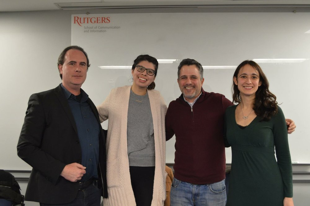 Rutgers University Society for Professional Journalists Career Panel, November 2018 - New Brunswick, NJ