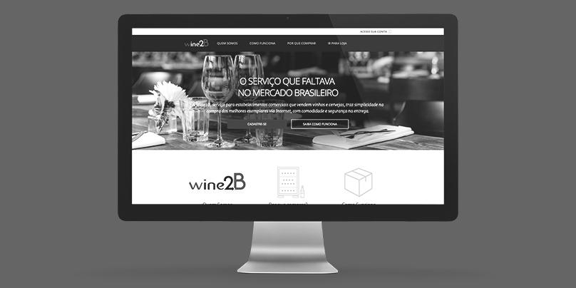 Wine2B – Desenvolvimento de Canal Online B2B