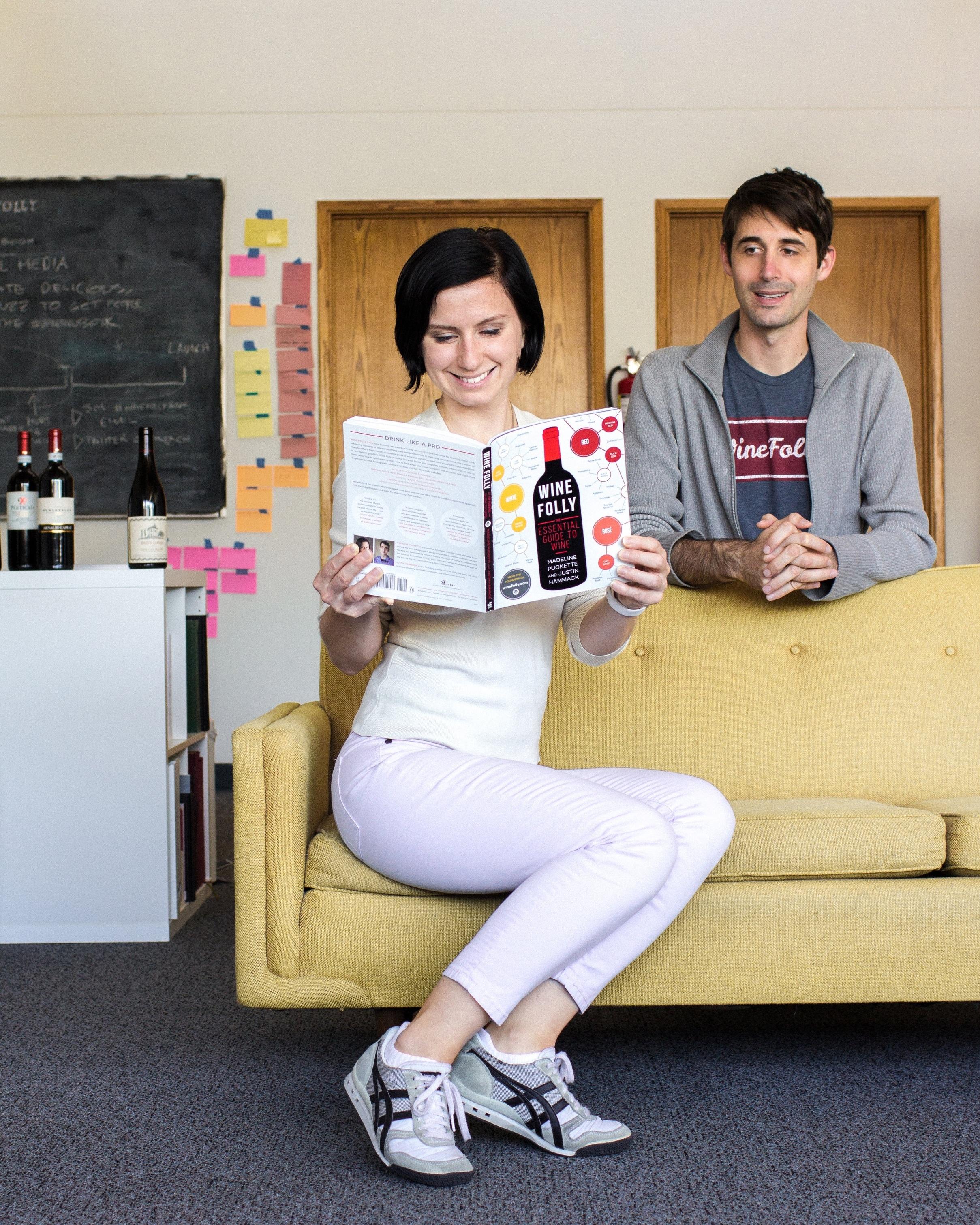 Apenas 2 anos após fundar a Wine Folly, Madeline publicou seu primeiro livro, que logo entrou para a lista dos mais vendidos do New York Times (Crédito: Wine Folly)