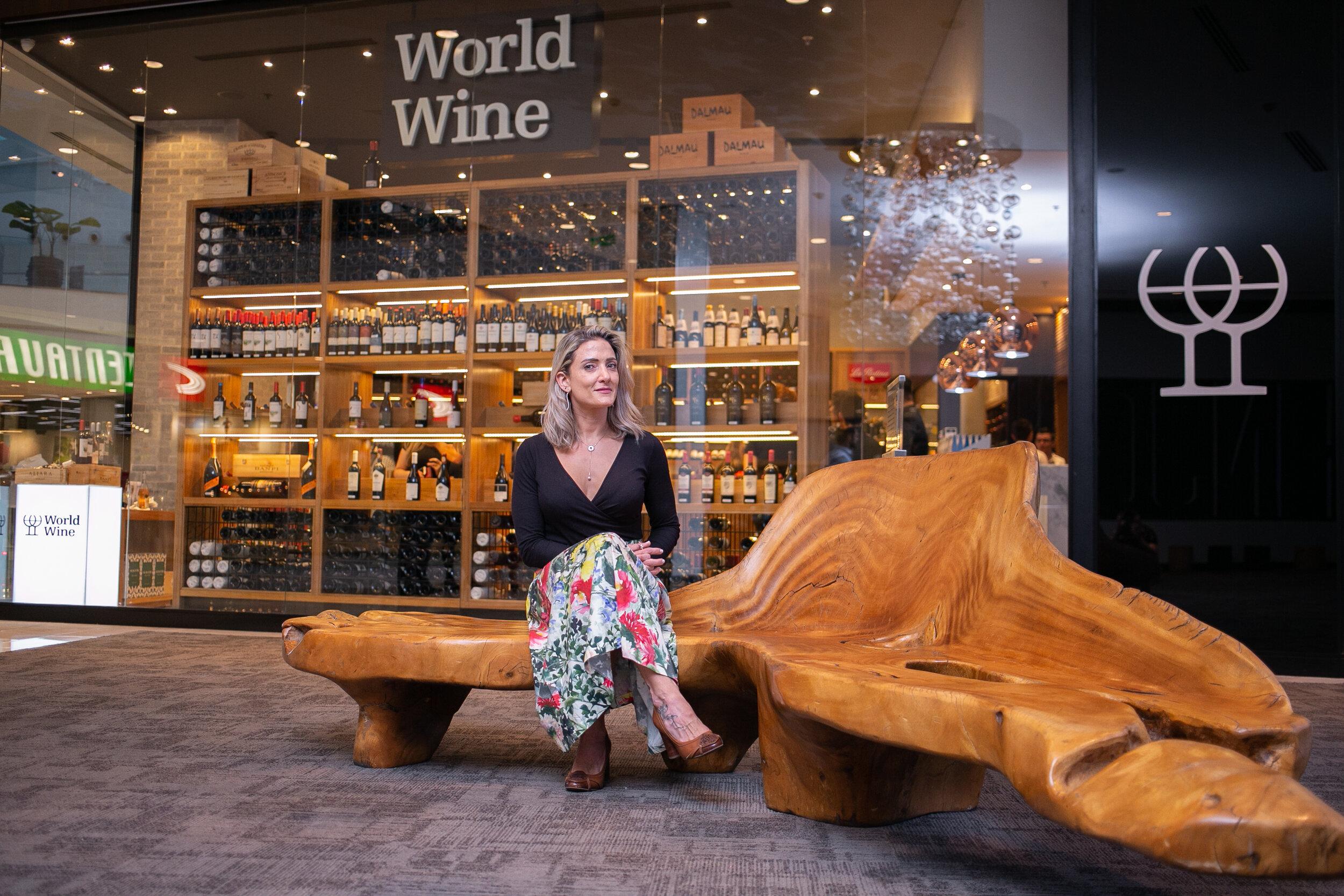 Juliana La Pastina é Vice-Presidente da World Wine