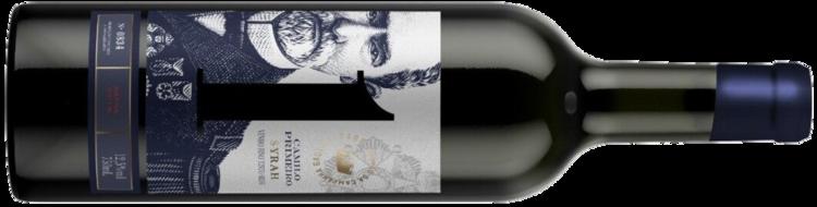 Lançamento da vinícola, o novo rótulo faz referência ao primeiro vinhedo de Syrah do Brasil e ao e ao primeiro membro da família Mercio a chegar na Campanha Gaúcha (Crédito: Estância Paraizo).