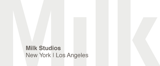 Logo provided courtesy of  Milk Studios  - Los Angeles