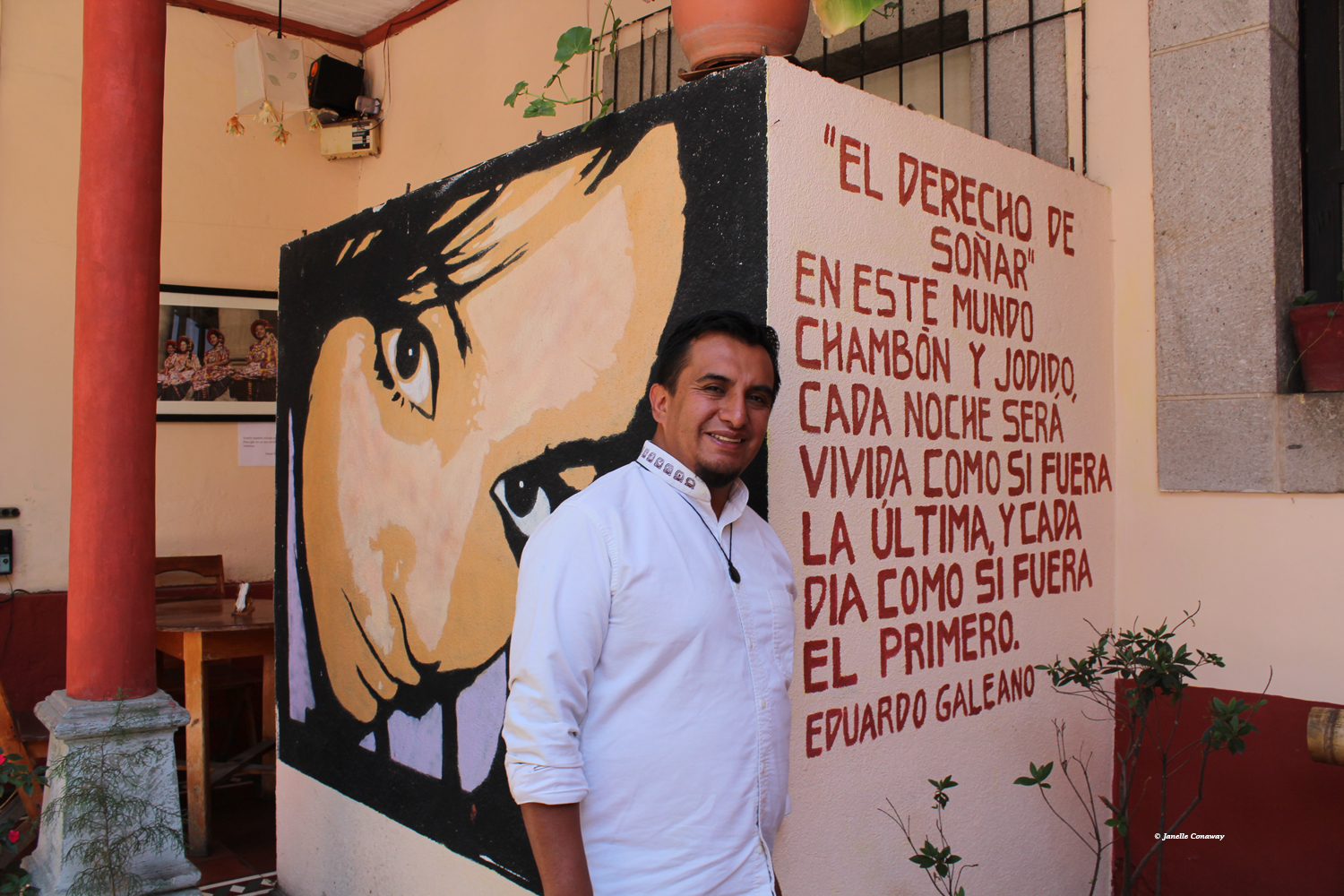 Willy Barreno wants to help young people in Quetzaltenango develop a stronger appreciation for their own culture and give them practical tools that might keep them from heading north.