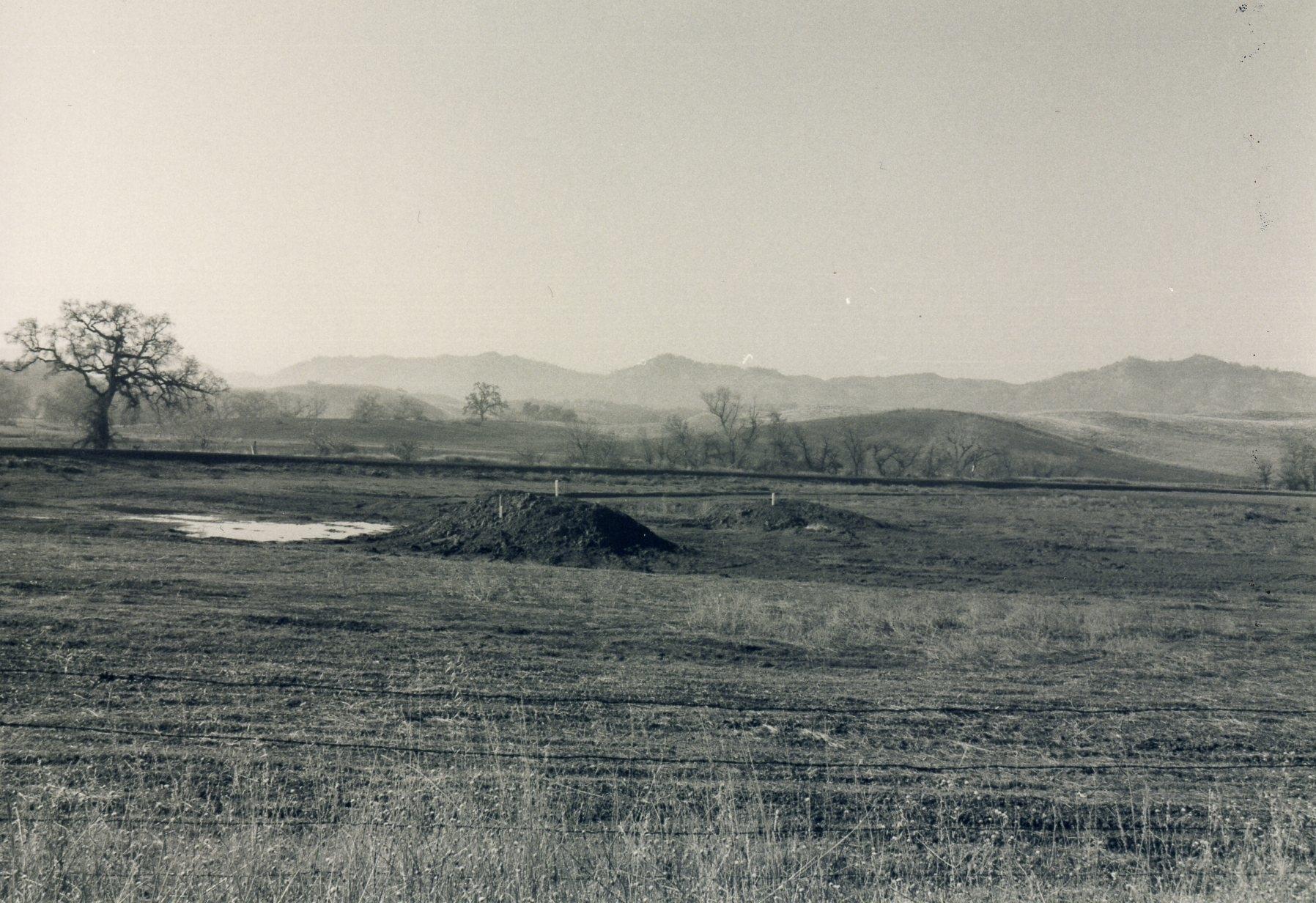 Western wetlands under construction, 1997