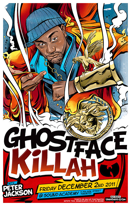 Ghostface Killah / Concert Poster
