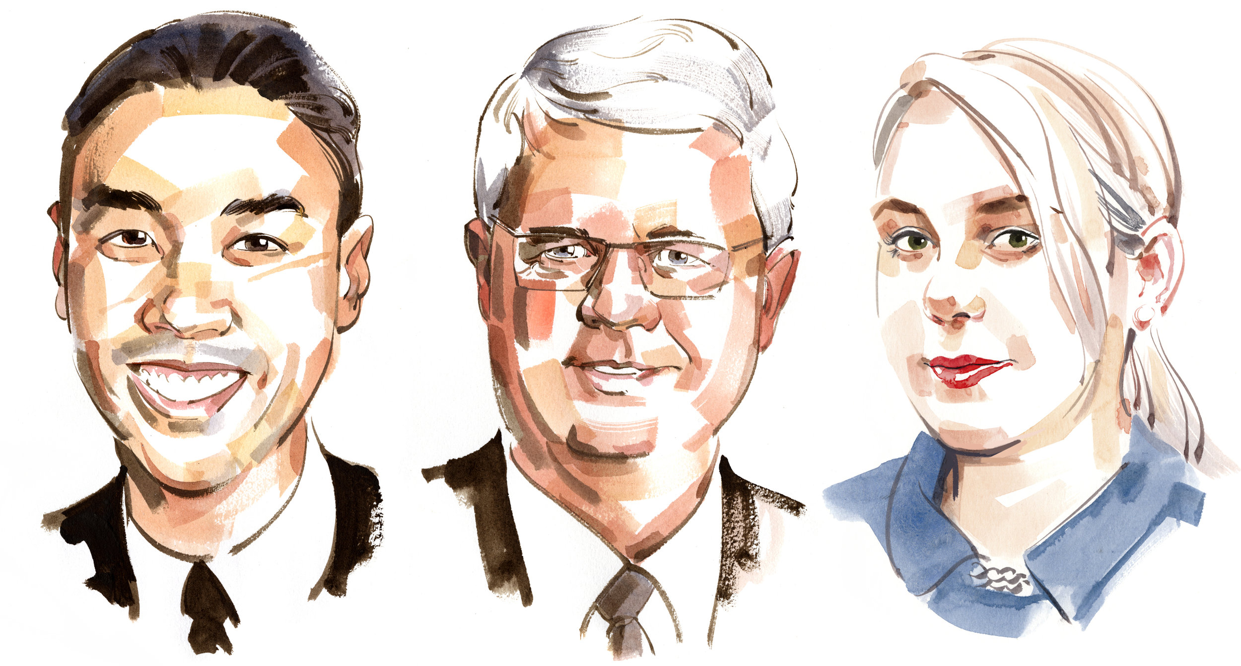 Columnist portraits