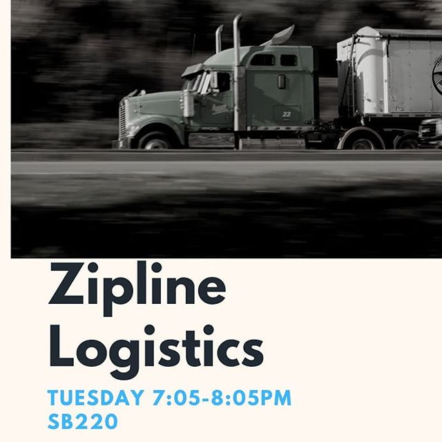 Hello TLA! Zipline Logistics will be at our meeting tonight to talk to us about supply chain and logistics. Did you know you can get extra credit for certain classes by attending meetings? Come ask us how!