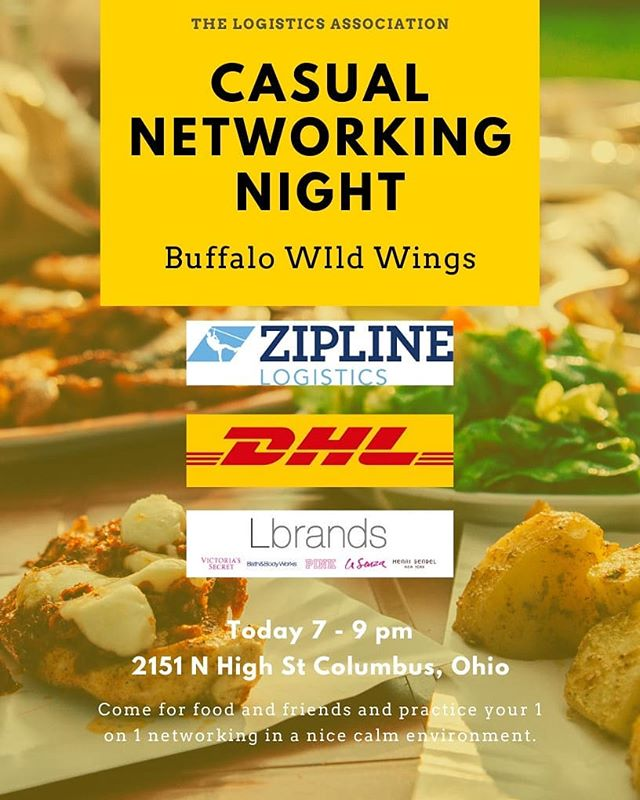 Come Hungry TLA! This week we will be having our semi-annual Casual Networking Night tonight from 7 to 9pm. Stop in whenever you'd like! It is a great way to have one on one interactions with recruiters in a calm environment full of friends and food!