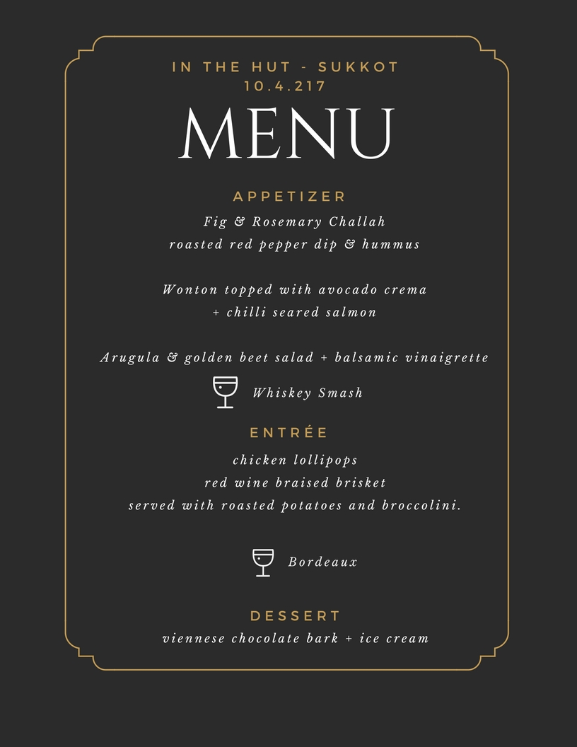 In the Hut - Sukkot Young Professional Menu.png