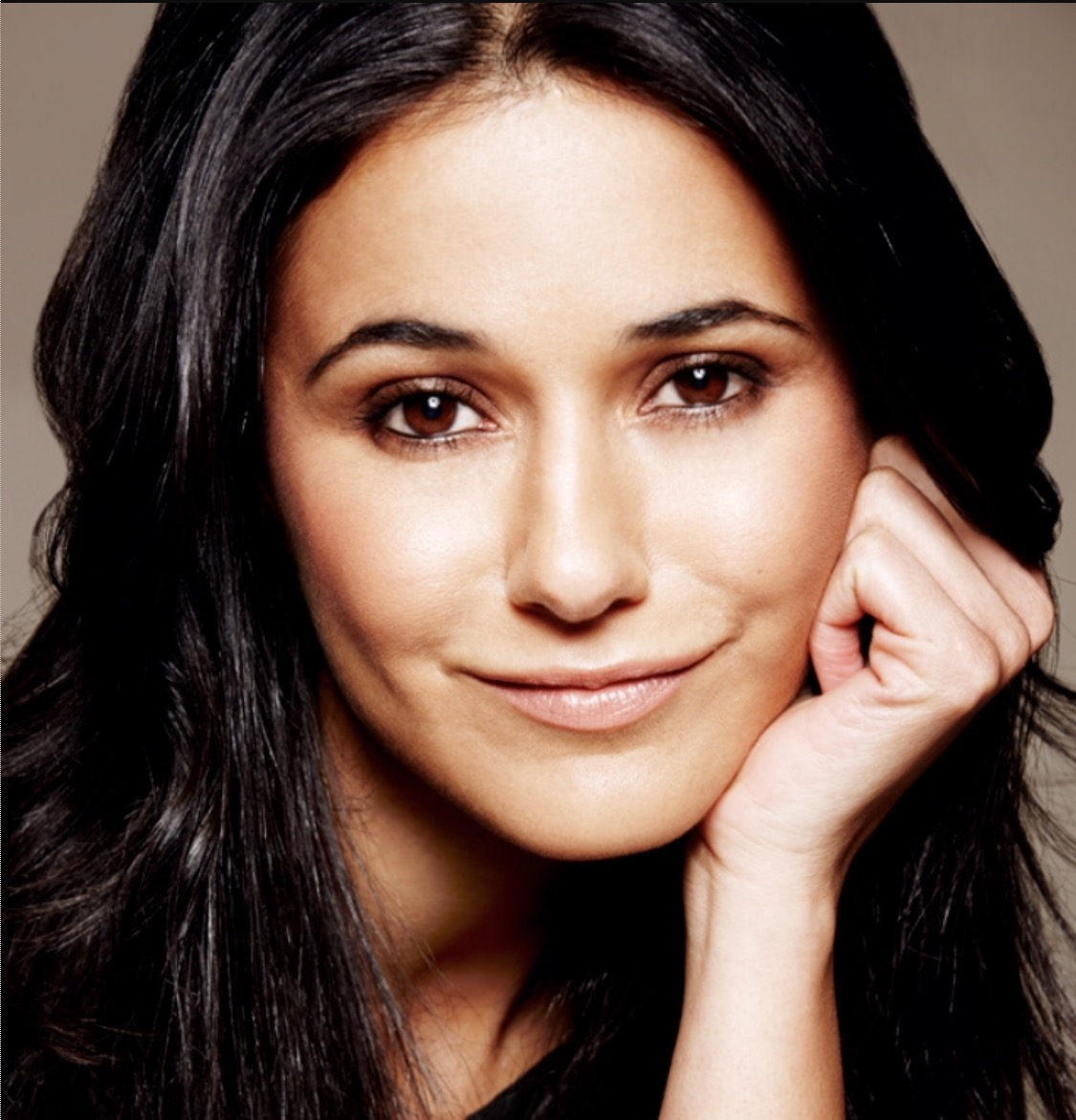 The event is co-hosted by the incredible Emmanuelle Chriqui!