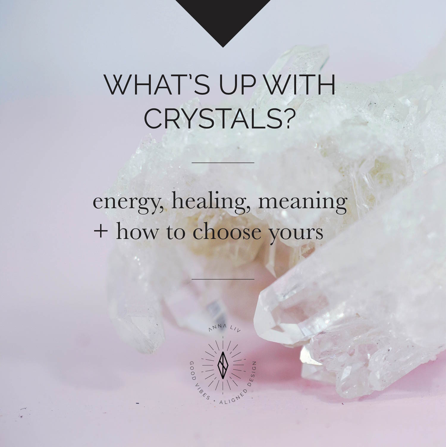 A basic guide to vibing with crystals
