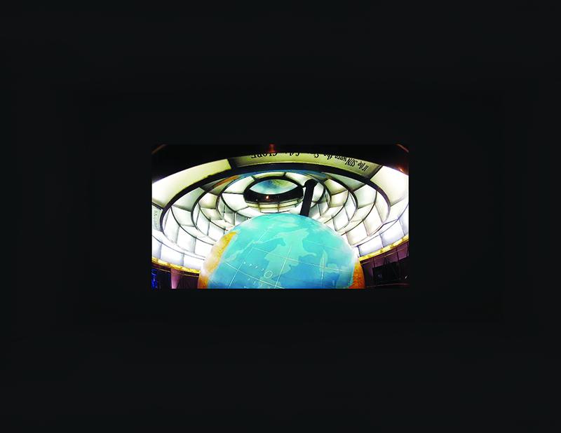 Documentation of a 2 room video/audio installation