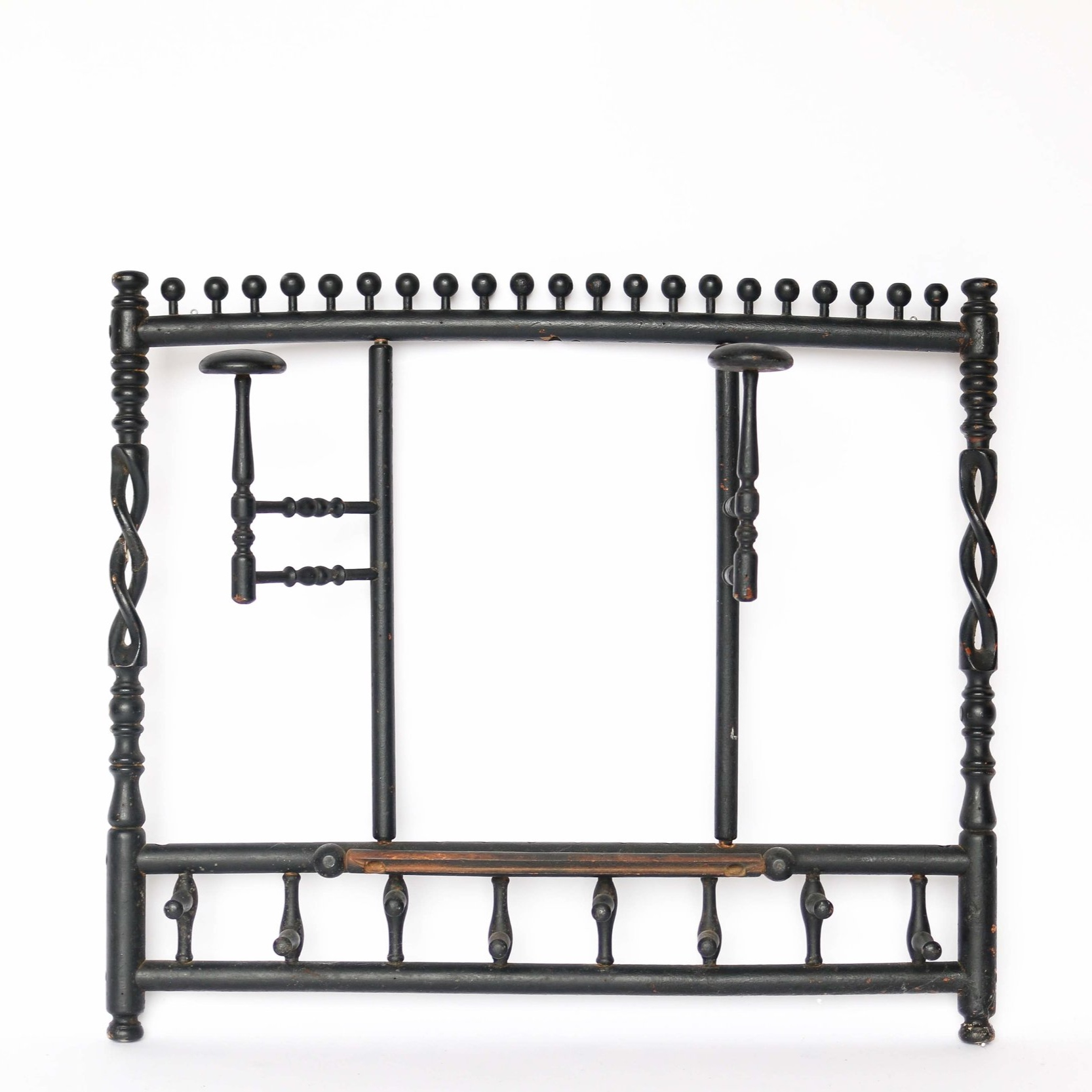Vintage Victorian Wall Mounted Coat And Hat Rack Jason Arnold Interiors