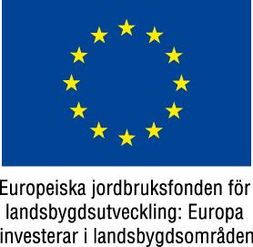 Vi utvecklas med stöd av Landsbygdsprogrammet 2014 - 2020 inom åtgärden