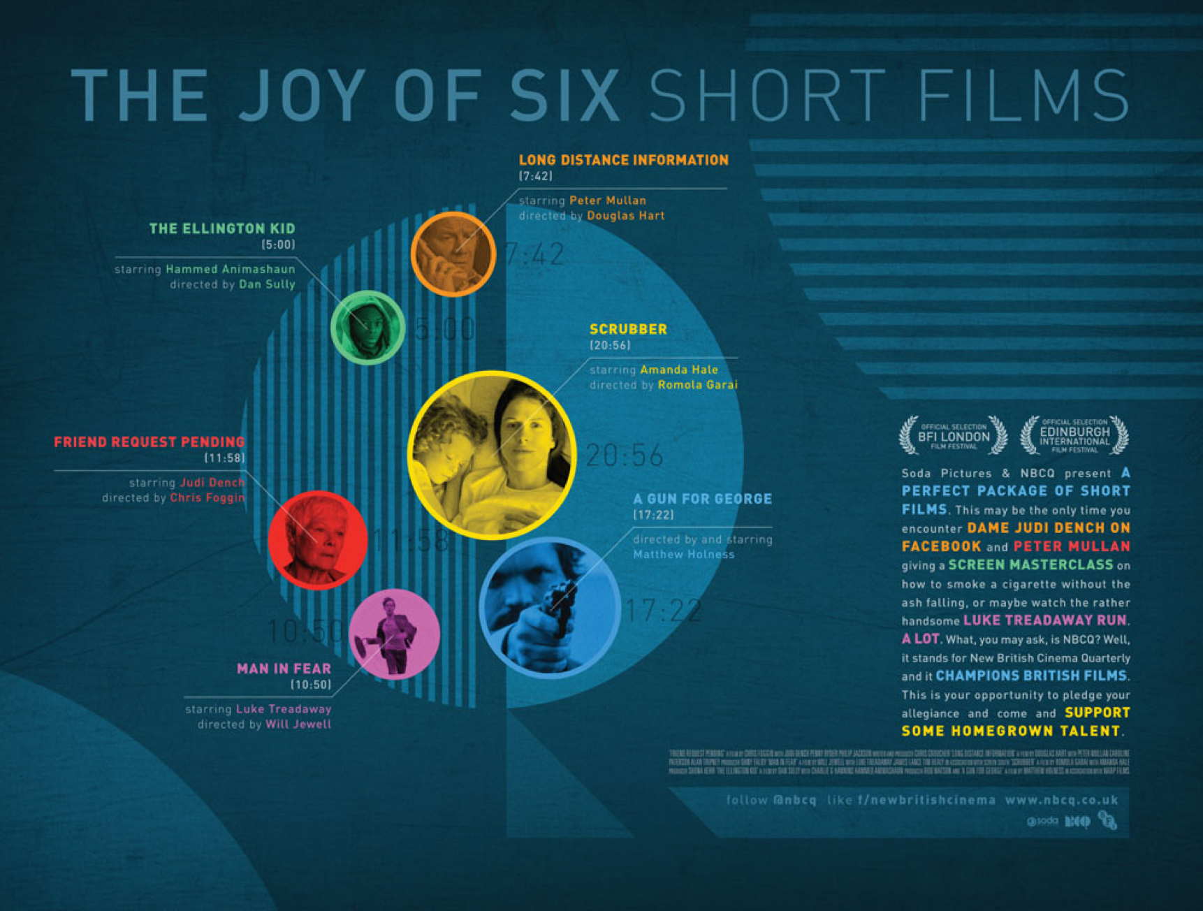 Joy of Six* Film Poster released by Soda Pictures.