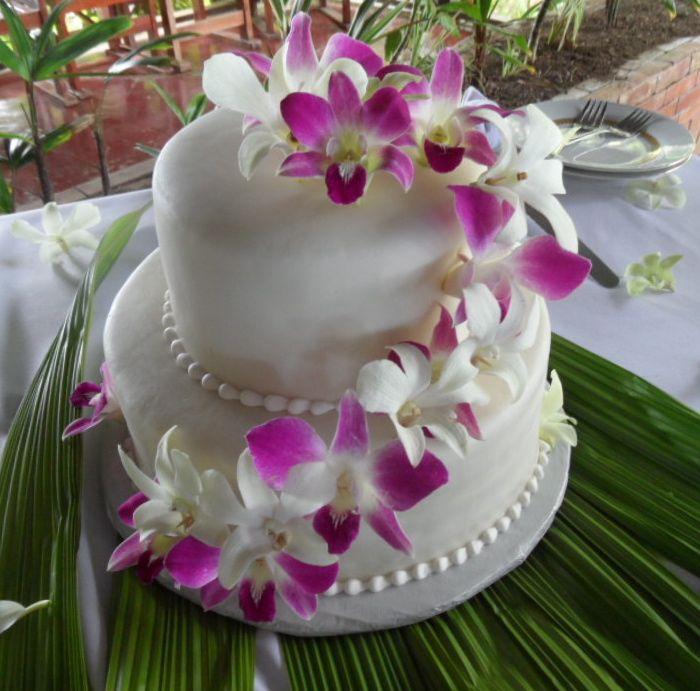 Cake - White with Fucsia:White Orquids.jpg