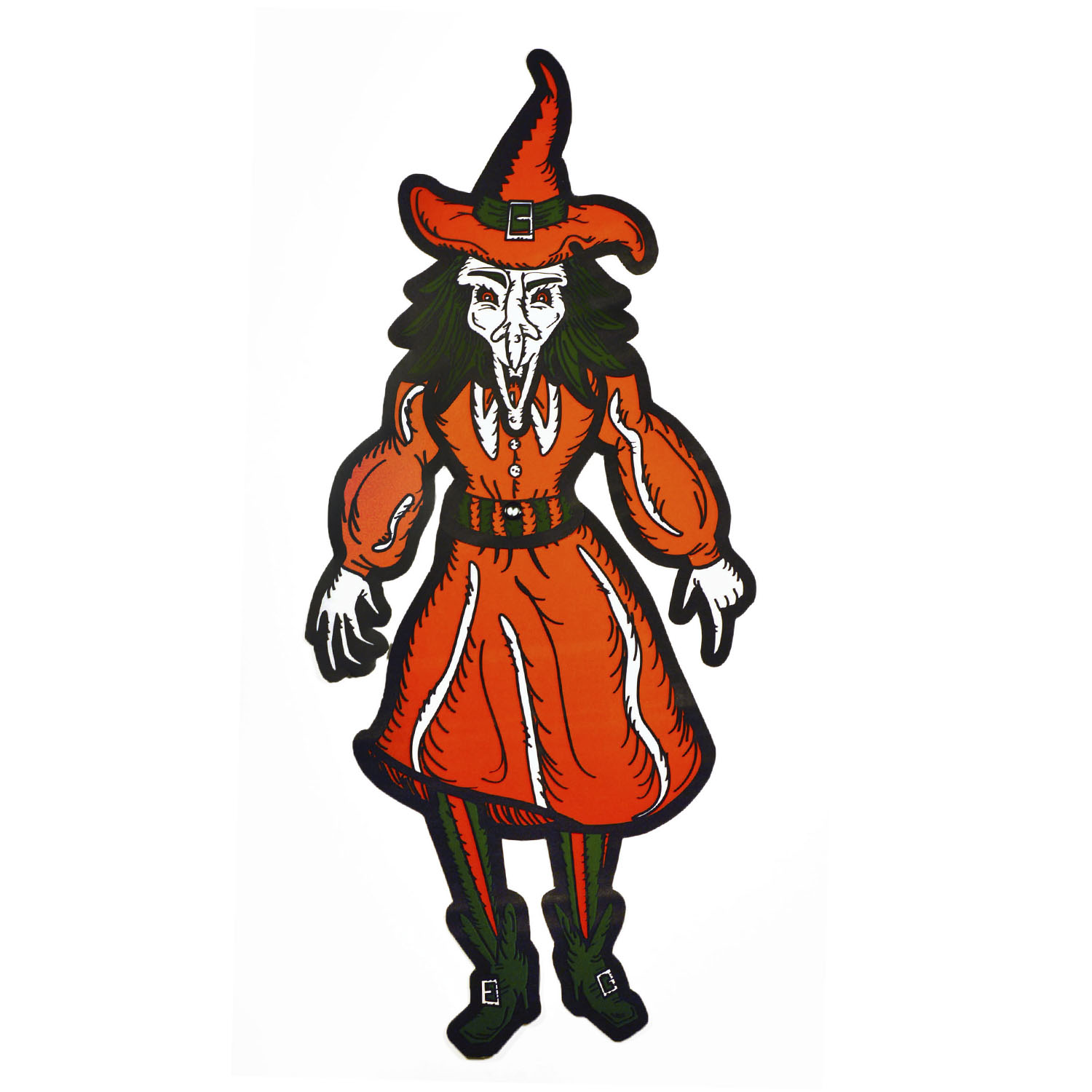 Jointed Witch Die Cut