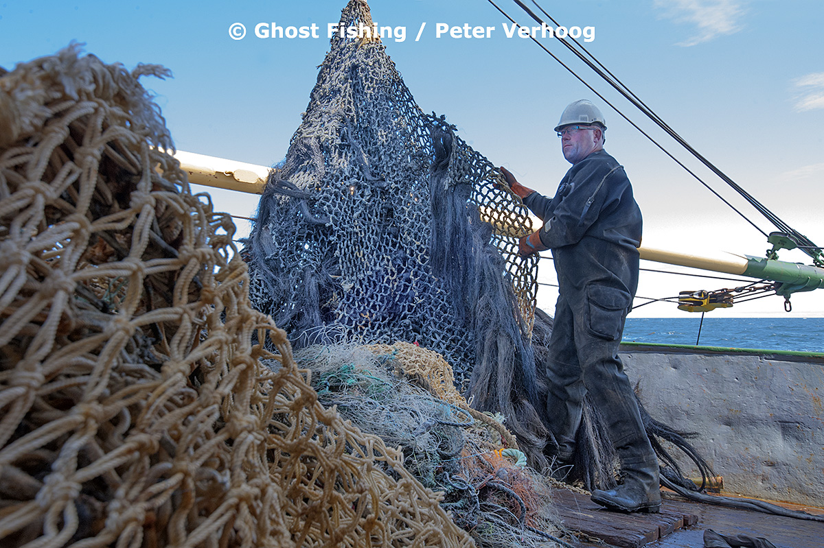 Photo credit: Peter Verhoog, Ghost Fishing