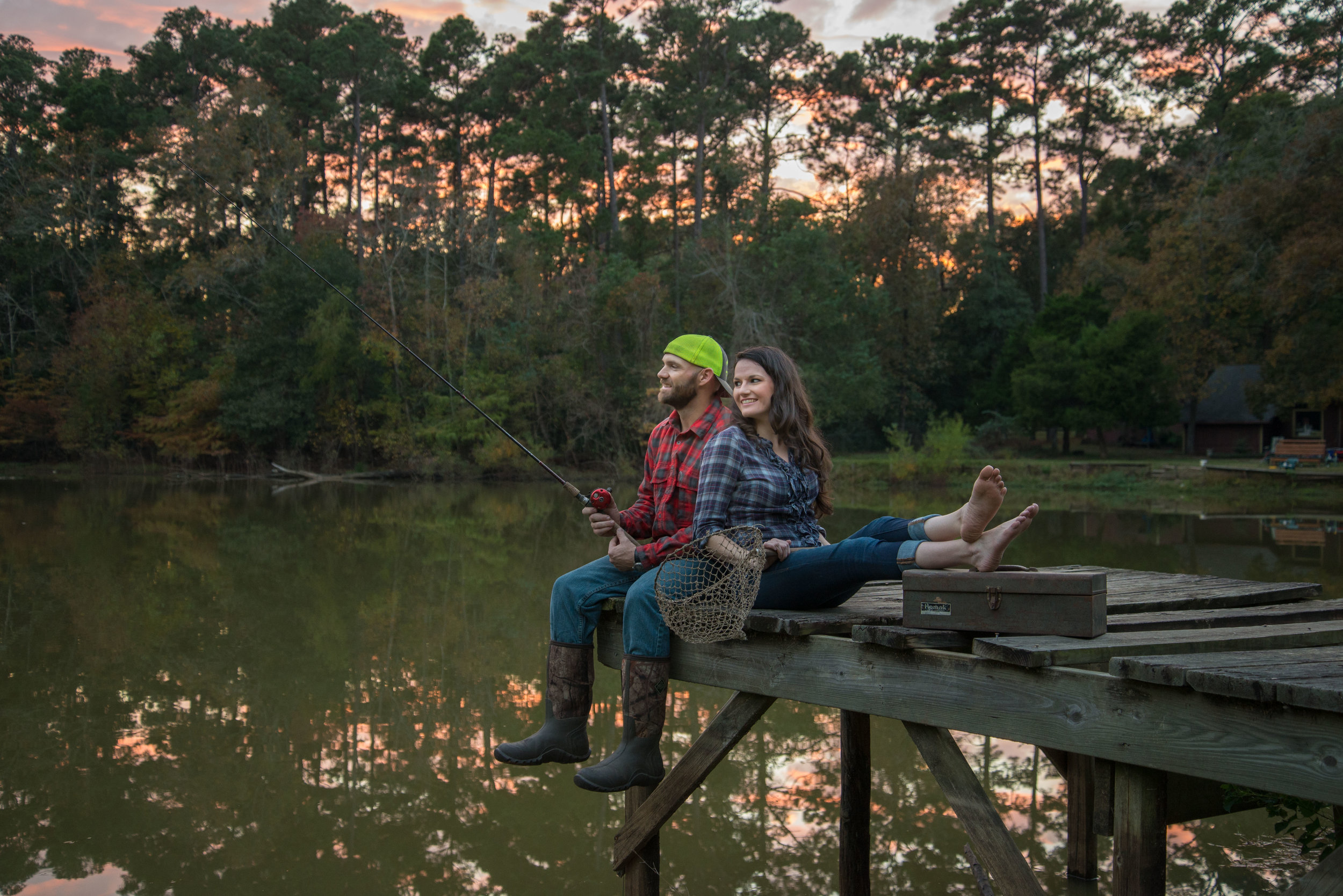 Brandon and Amy, Catch of a Lifetime, Montgomery, TX