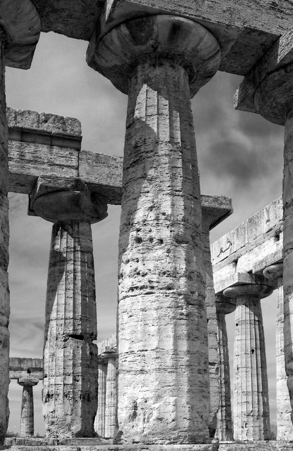 The Temple of Hera I, Basilica, Paestum, Italy.