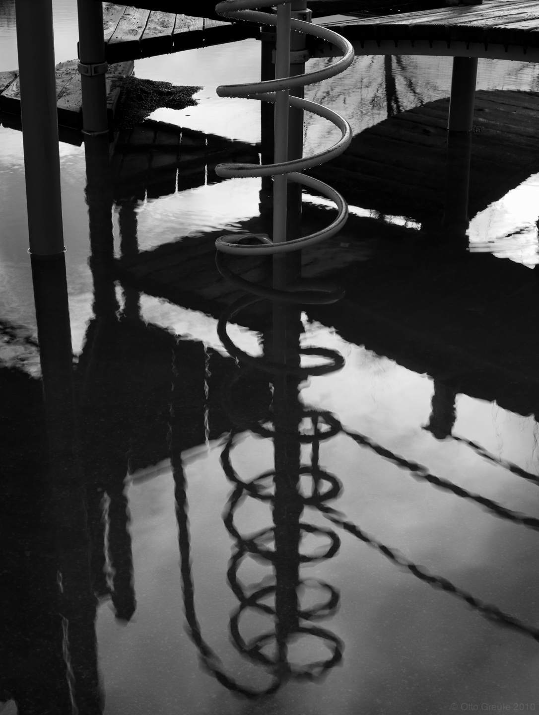 Flooded Playground, Seattle, WA.